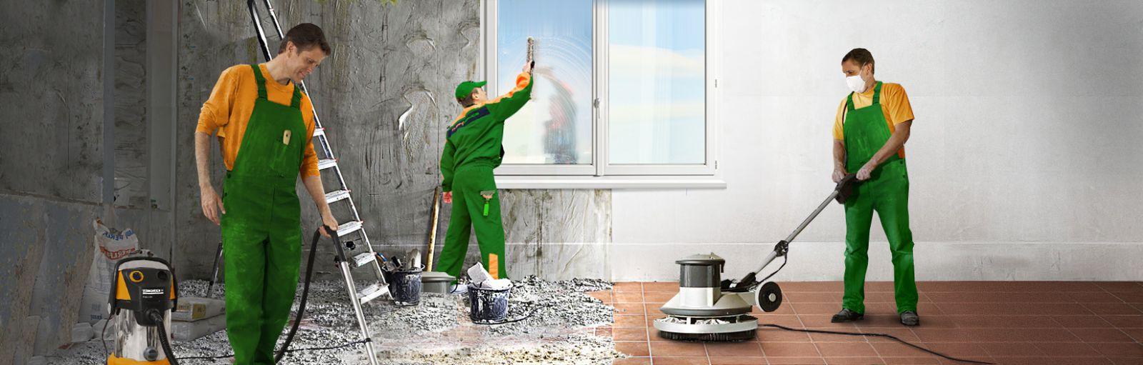 уборка в квартире после ремонта