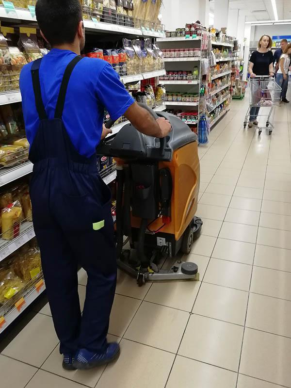 уборка магазинов