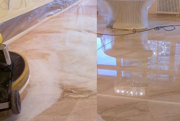обработка натуральных покрытий полировка камня