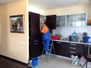 Уборка трехкомнатной квартиры