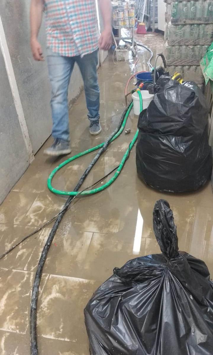Уборка после затопления в Сочи
